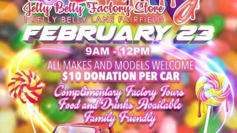 Cars & Candy at Jelly Belly February 23