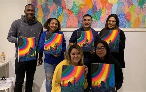 Family Paint Nights in Solano Town Center April 3rd