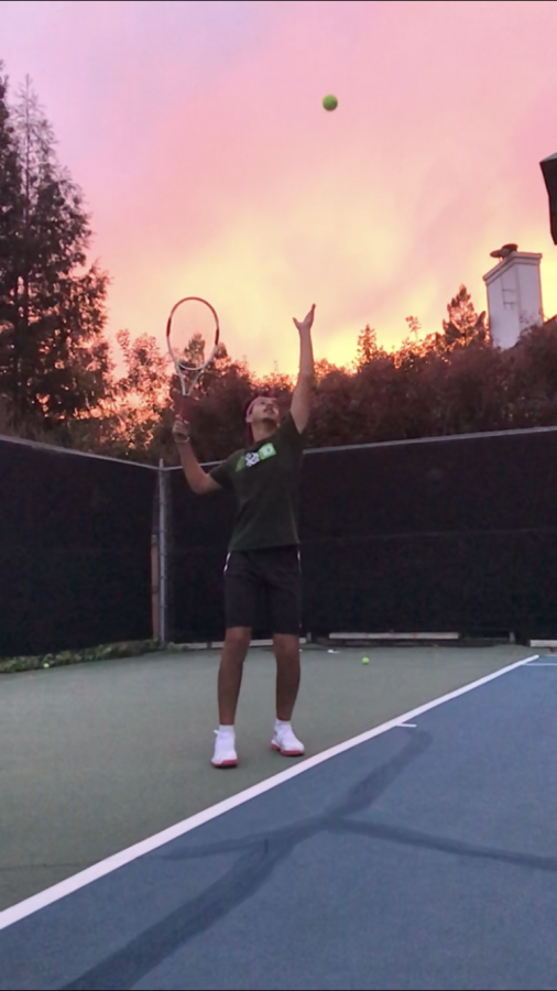 Arshbir finds time to practice, despite the pandemic.