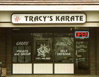 This is where the magic happens for Nick and his kickboxing.