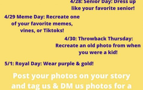 Join in the Virtual Spirit Week April 27 - May 1