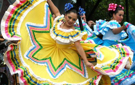 Mexican dancers perform at a Cinco de Mayo festival in 2007.