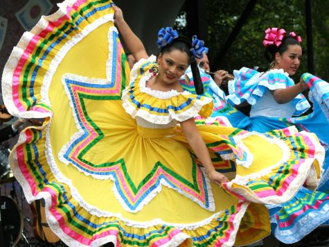 Mexican dancers perform at a Cinco de Mayo festival in 2007.