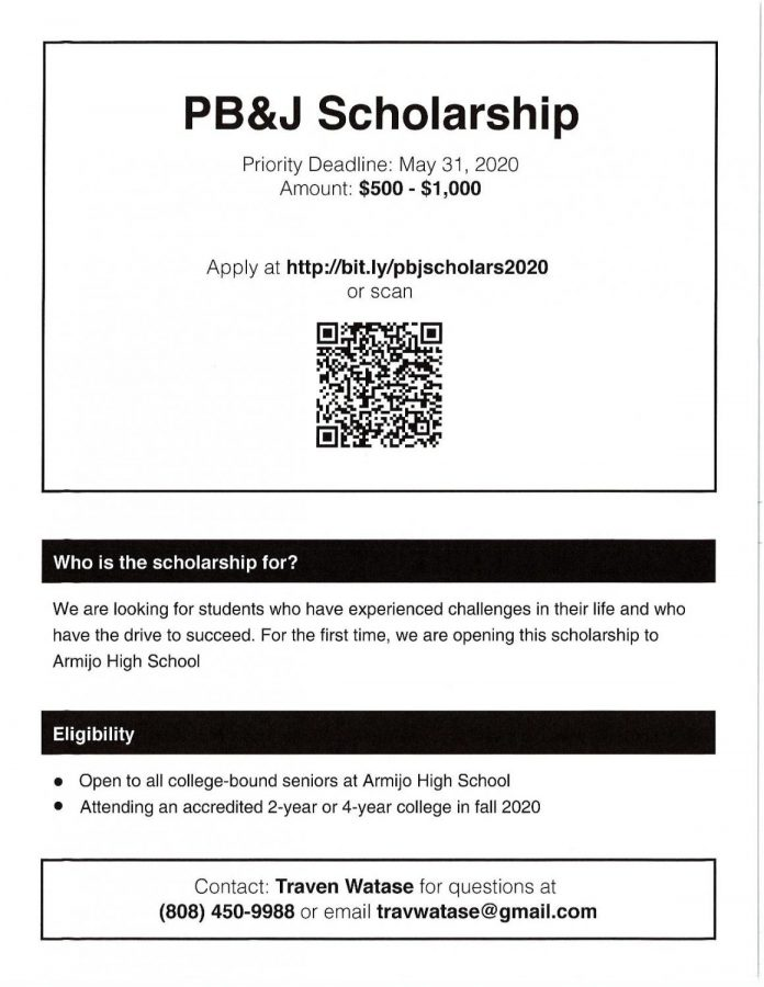 Students who are driven can apply by May 31