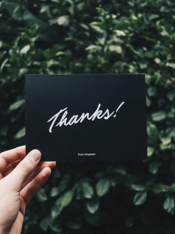 A little Thanks goes a long way at the end of the year.
