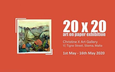Art Exhibition from your Own Home - 20 x 20 Art on Paper Online Exhibition