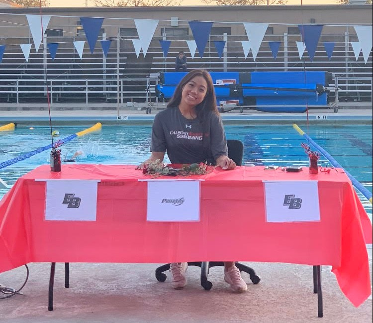 Abby has earned many honors in her years on the Swim team.