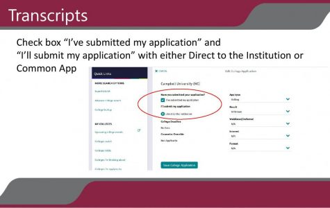 You can request and send your high school transcripts to the schools of your choice, all from the comfort of your home.