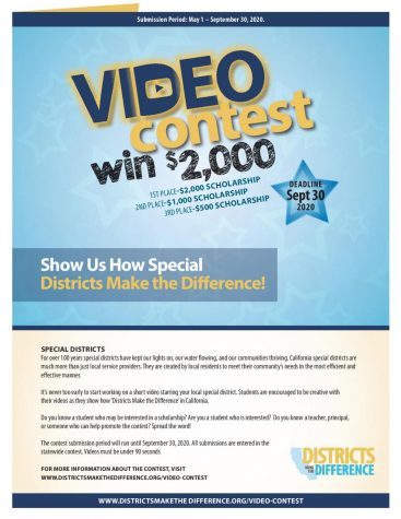 Video contest offers cash rewards