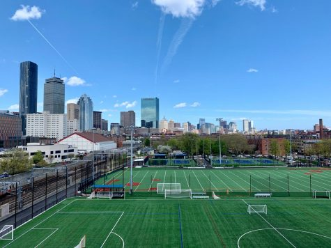 This New York university allows an educational oasis within the community.