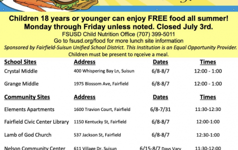 Free food for the summer