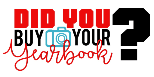 Yearbook pick-up is extended to June 29.