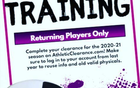 Men's summer soccer training begins soon