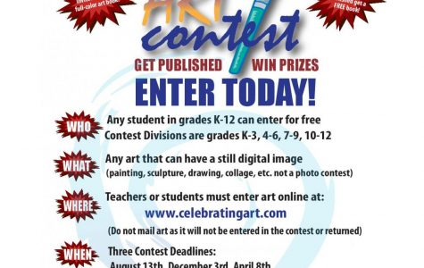 Art Contest seeks participants by August 13