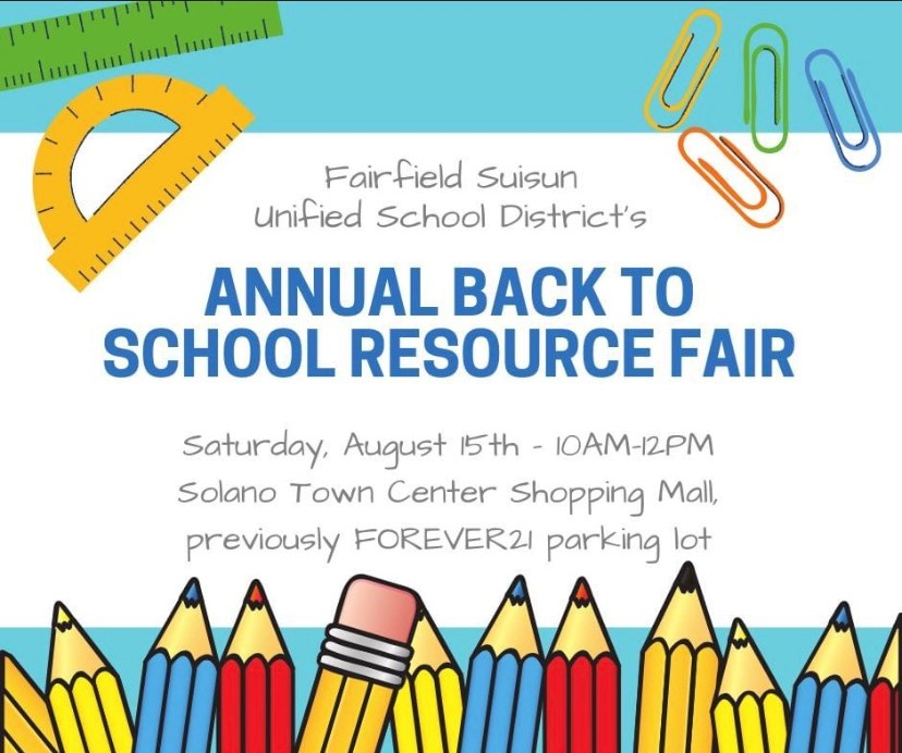 Back to School Fair - August 15