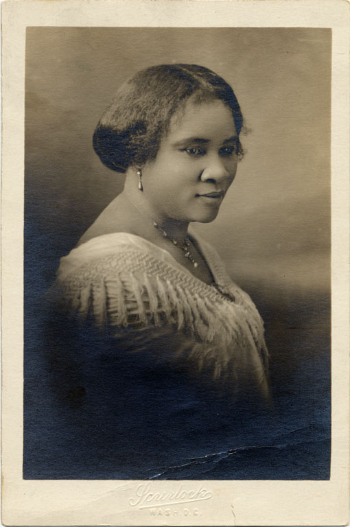 Support from her family and community helped Madam C.J. Walker's business grow.