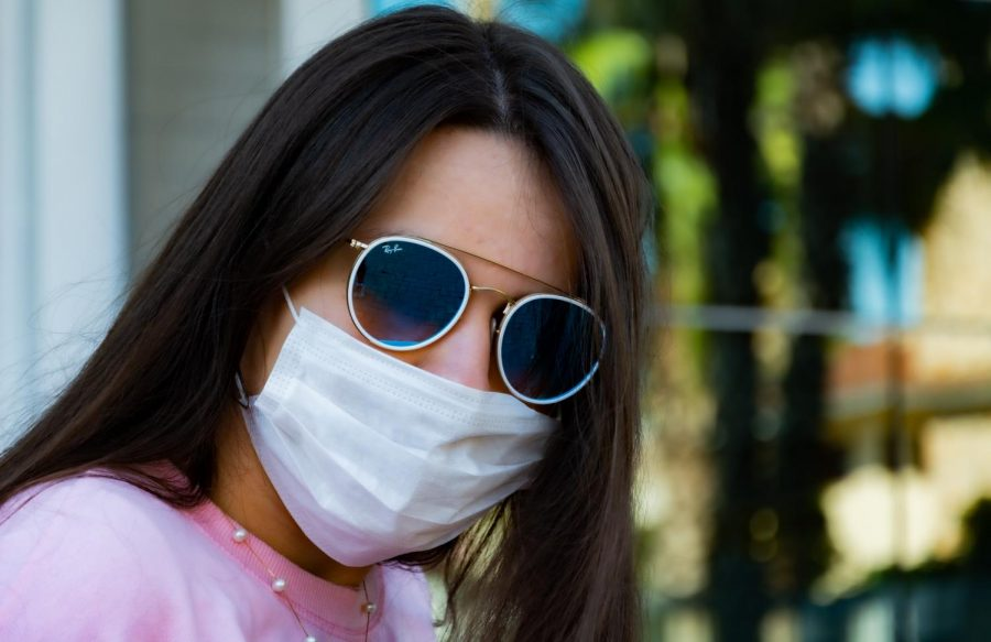 Whether you choose trendy sunglasses or make your own fashion, just be safe!