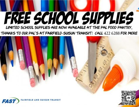 Call 422-6288 for information on how to get free school supplies.
