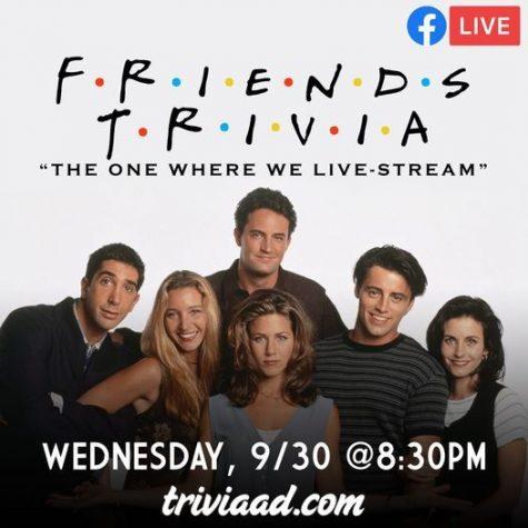 Friends Virtual Trivia Night - Sep. 30