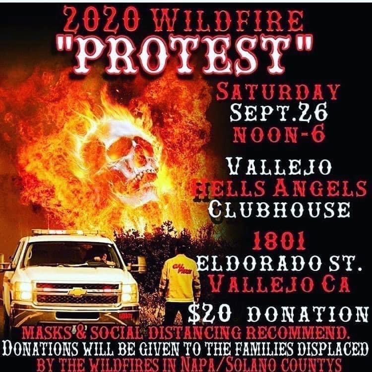 2020 Wildfire Fundraiser - Sep.26