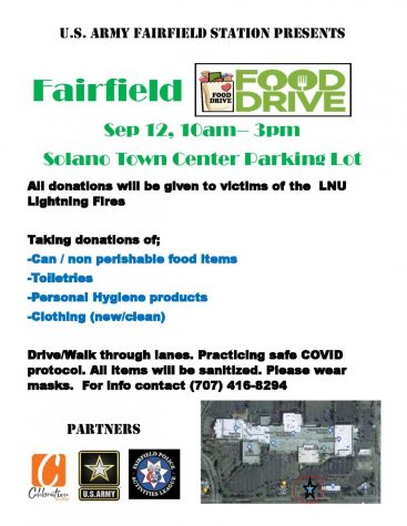 Food, toiletries, more collected for fire victims 9/12