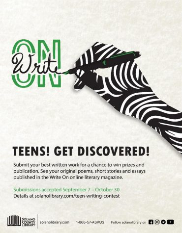 Get your write on! Deadline is 10/30