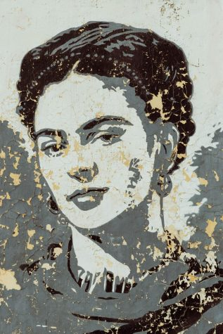 Frida Kahlo is most known for her self-portraits. Go check them out!
