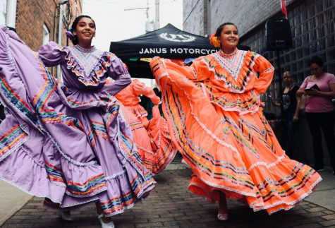 Dancing, music, food and parties are all part of the celebration of Hispanic Heritage Month.