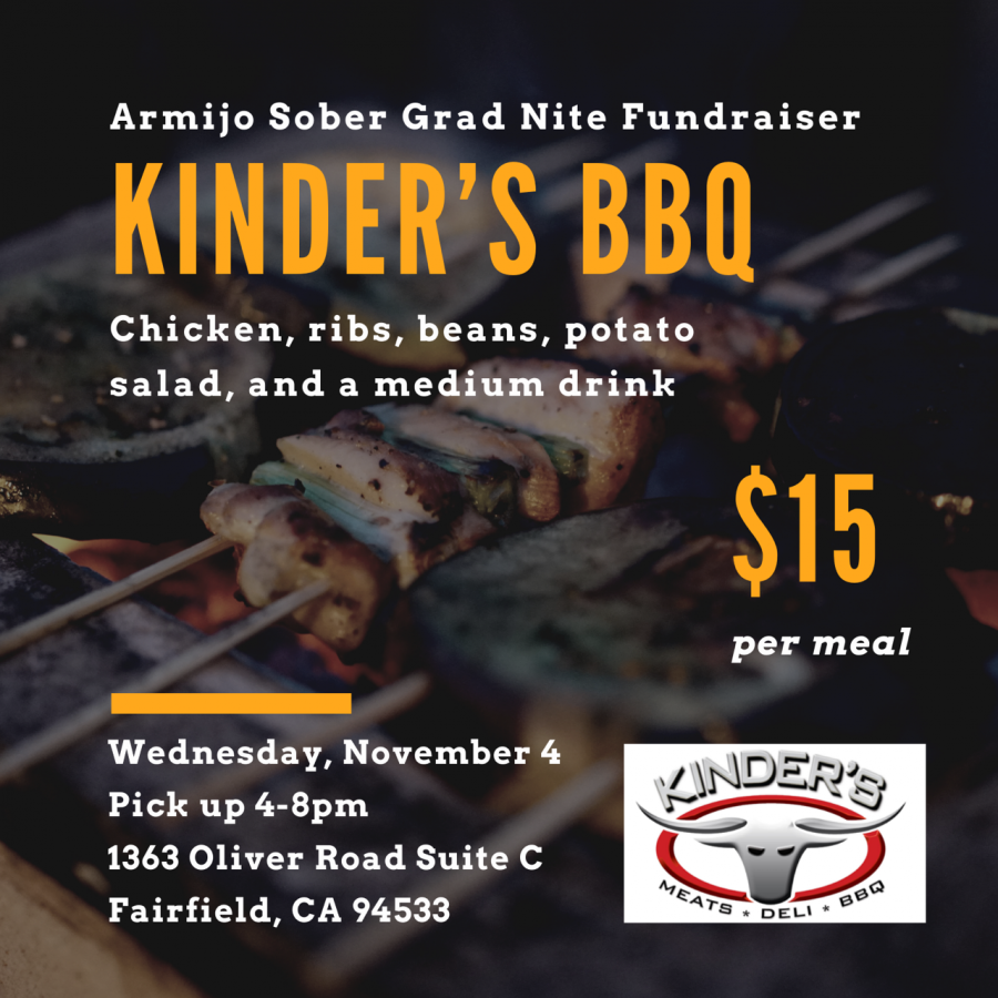Grad Nite Fundraiser at Kinders BBQ