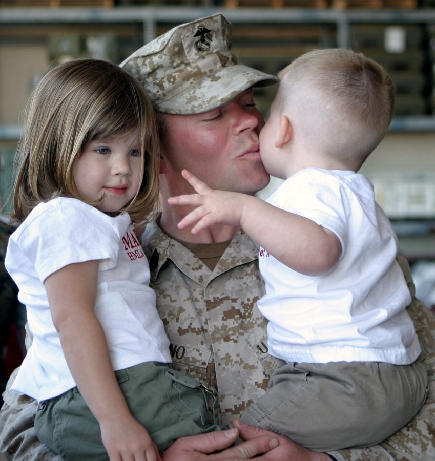 All family moments are special for military families.