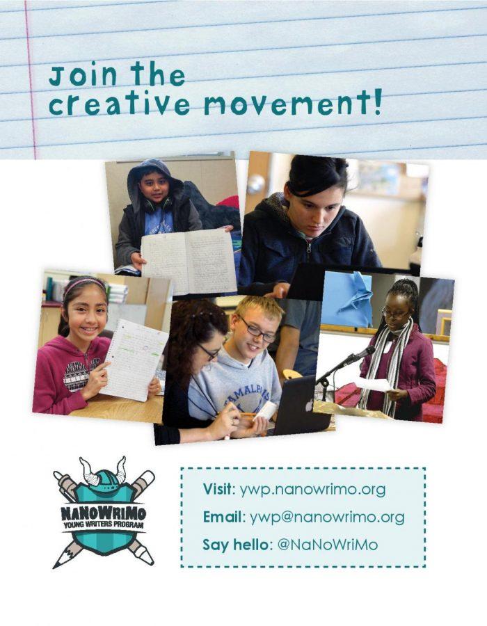 NaNoWriMo Young Writers Program