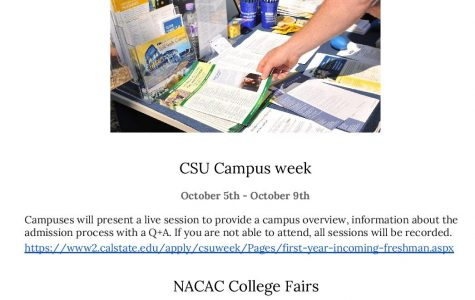 Sign up for an upcoming virtual college fair
