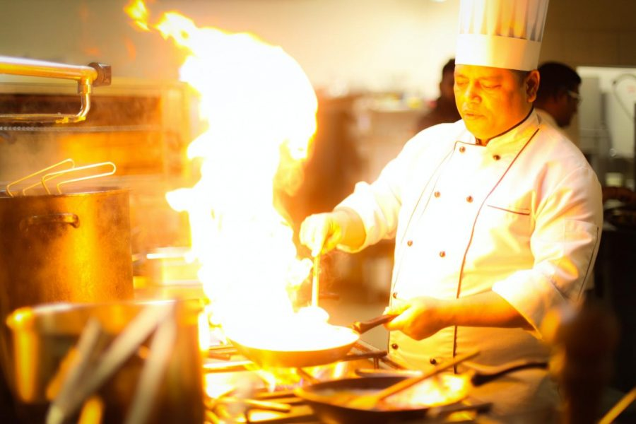 Chefs get to play with both fire and food. What a career!