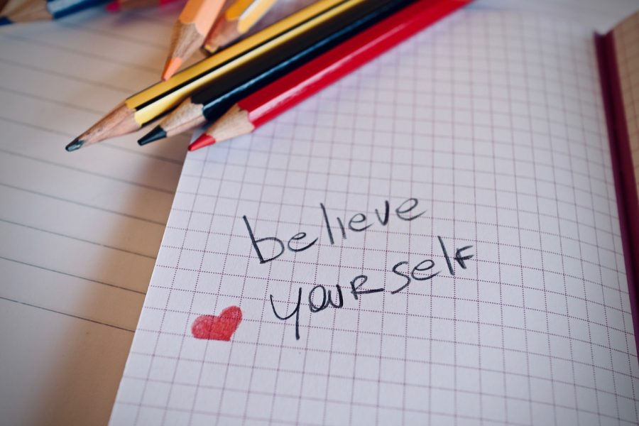 A note to yourself, a promise, you can do this!