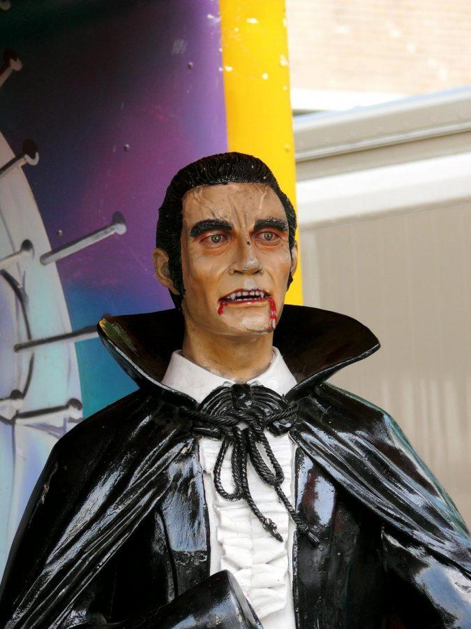 Dracula has always been a popular Halloween costume choice!