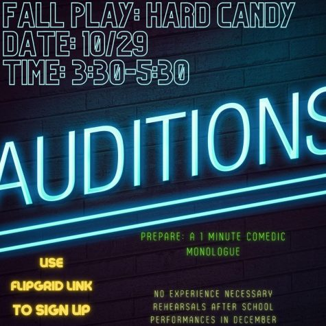 Drama workshop, October 21; try-outs October 29