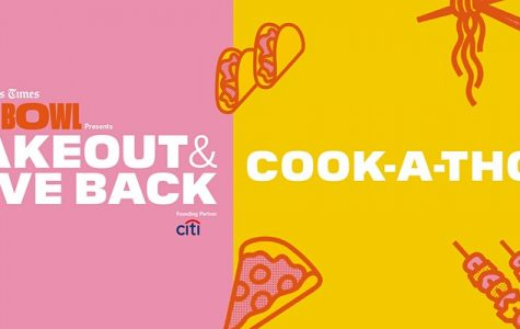 Cook-A-Thon:Take Out and Give Out Event - October 17