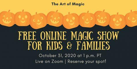 Halloween Night Family Magic Show - October 31