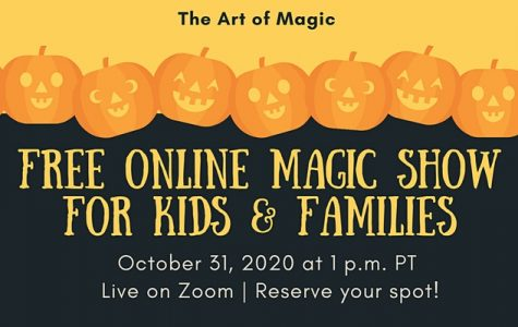 Halloween Night Family Magic Show - October 31