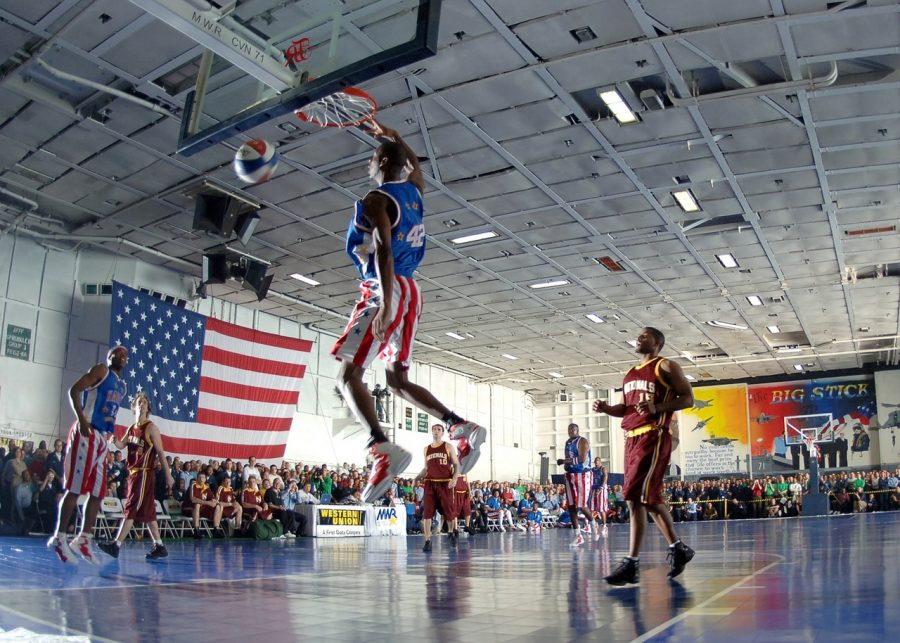 Since 1926, the Globetrotters have been perfecting the Trick Shot.