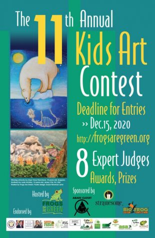 2020 Kids Art Contest - A Healthy Planet Earth