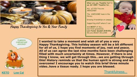 Thanksgiving is all about gratitude