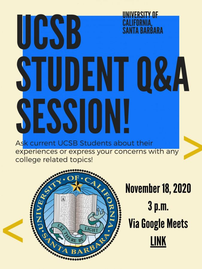 Q&A with UCSB on November 18