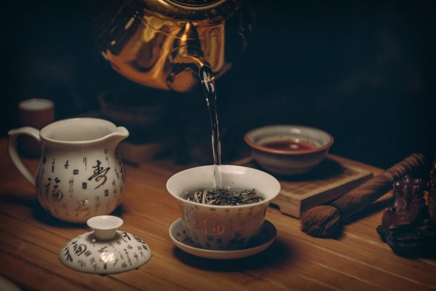 Tea is a beverage that goes with any meal or snack.