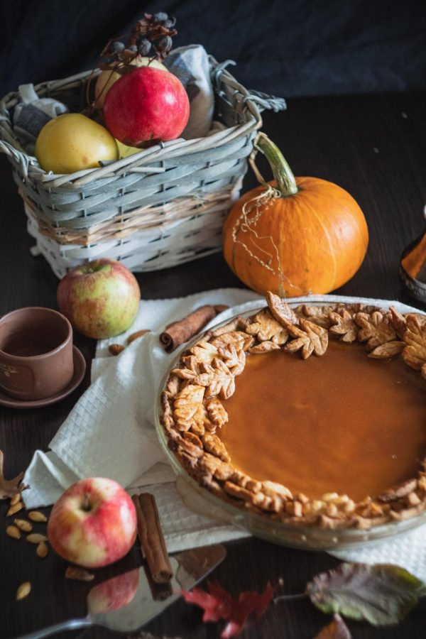Pumpkin pie appeals to many senses.