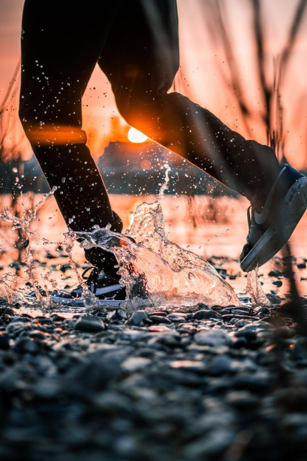 Be spontaneous or pull on your rainboots and splash!
