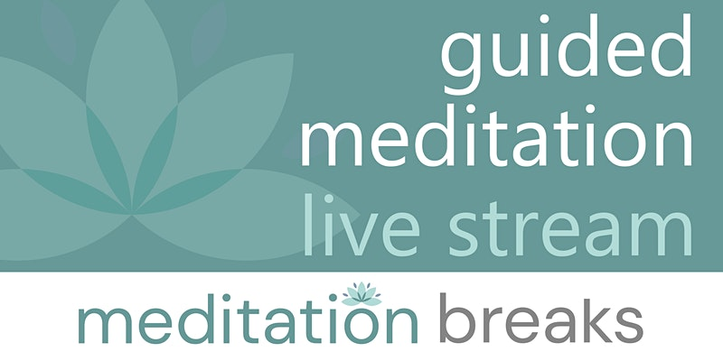 Live Guided Meditations Every Wednesday