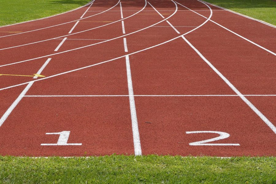 Sports are on track for the spring, and Track and Field can't be far behind.