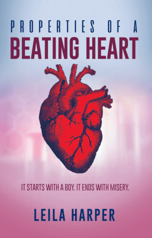"This is the book cover of ""Properties of a Beating Heart""."