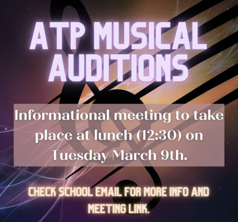 Learn about auditions for musical